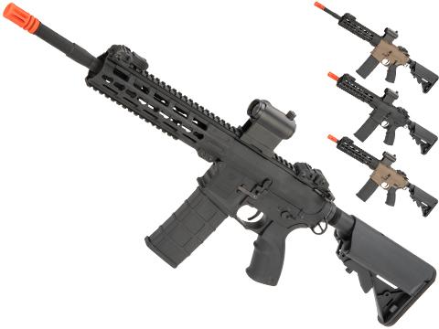Tippmann Commando Full Size M4 Airsoft AEG with Keymod Handguard (Length: Carbine / Black)
