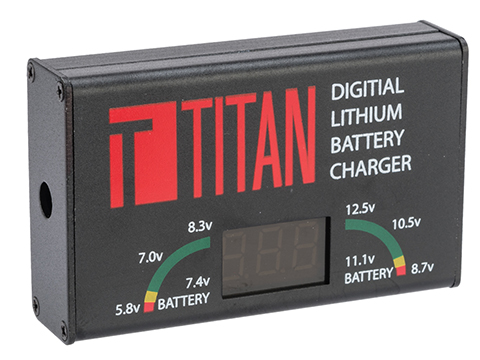 Titan Power Digital Charger for LiPo AEG Batteries