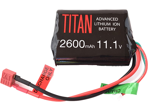 Titan Power 11.1v 2600mAh 10C Brick Type Li-Ion Battery (Connector: Standard Deans)