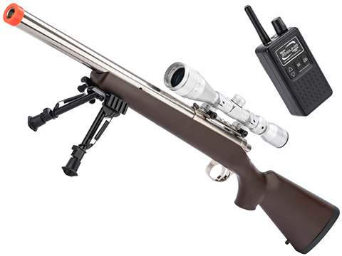 Tokyo Marui Pro Hunter VSR-10 G-Spec Airsoft Sniper Rifle w/ Gun Sound System (Color: Imitation Wood)