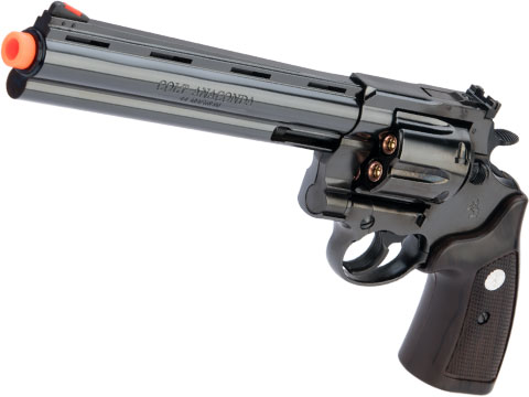 Marushin Colt Anaconda .44 Gas Powered Airsoft Revolver (Model: 8 / Blued Steel / ABS)