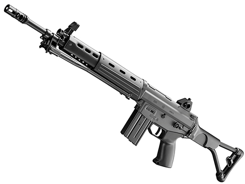 Tokyo Marui MWS JSDF Type 89-F Gas Blowback Airsoft Rifle w/ Folding Stock