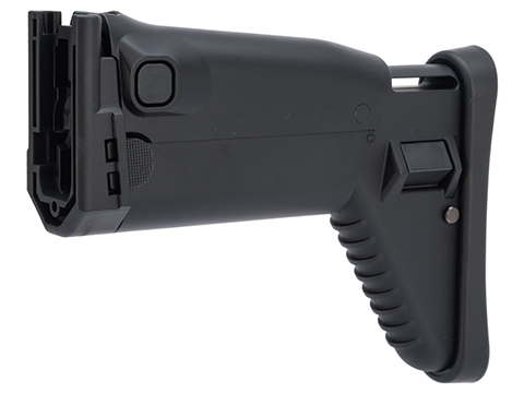 Tokyo Marui Side Folding Retractable Stock for Next Generation SCAR Series Airsoft AEG (Color: Black)
