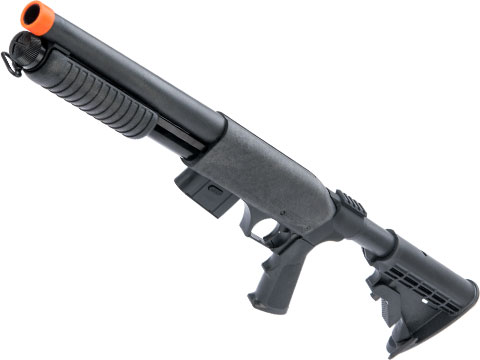 Maruzen CA870 Hop-Up Version Airsoft Spring Shotgun w/ Detachable Magazine (Model: Charger)