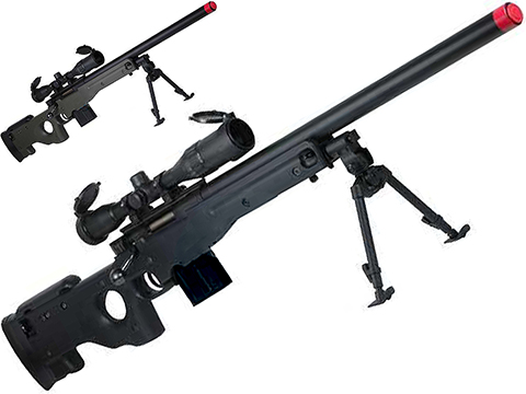 Tokyo Marui L96 AWS Arctic Warfare Series Airsoft Sniper Rifle w/ Bull Barrel (Color: Black)