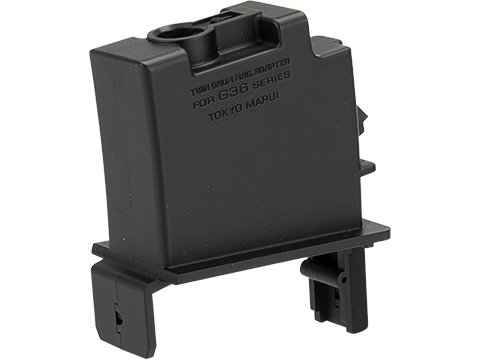 Tokyo Marui Conversion Adapter for Twin Drum Magazine (Gun: Next Gen G36)