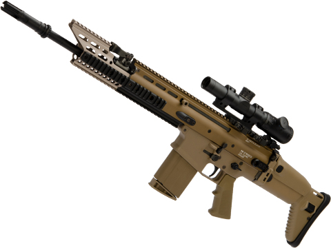 FNH Licensed Laylax Custom Built Tokyo Marui Next Generation Recoil Shock System Scar-H / MK17 AEG Rifle