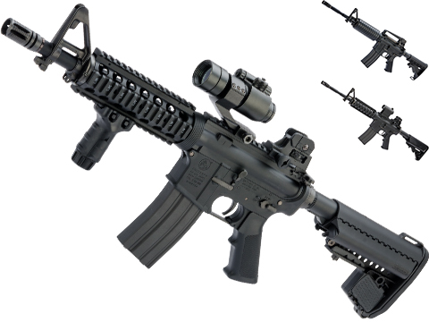 Tokyo Marui Next Generation Recoil Shock System Colt Licensed M4 AEG Rifle (Color: Black / CQB-R)