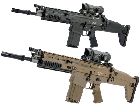 Tokyo Marui Next Generation Recoil Shock System FNH Licensed SCAR-H / MK17 AEG Rifle (Color: Flat Dark Earth)