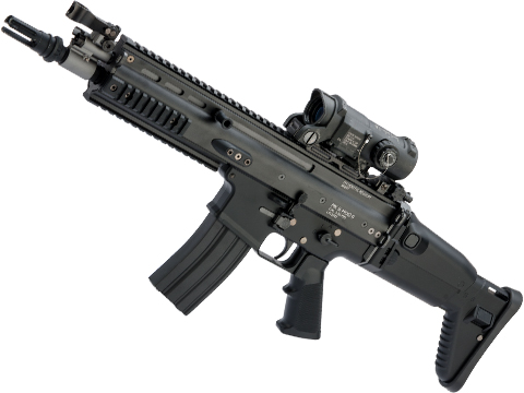 Tokyo Marui Next Generation Recoil Shock System FNH Licensed SCAR-L / MK16 AEG Rifle (Color: Black / CQC)