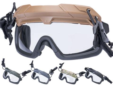 TMC Special Forces QD Full Seal Goggles for Bump Helmets (Color: Black)