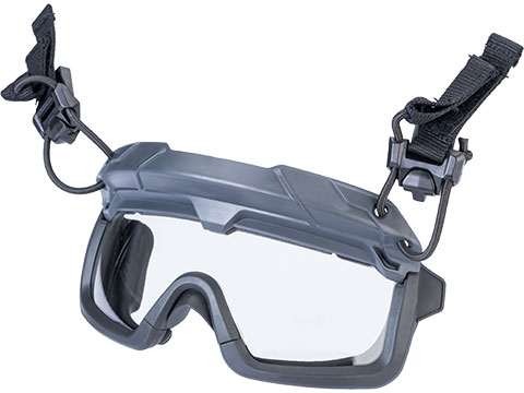 TMC Special Forces QD Full Seal Goggles for Bump Helmets (Color: Wolf Grey)