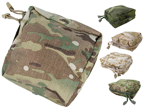 TMC Nylon Square MOLLE Canteen Pouch (Color: Multicam)