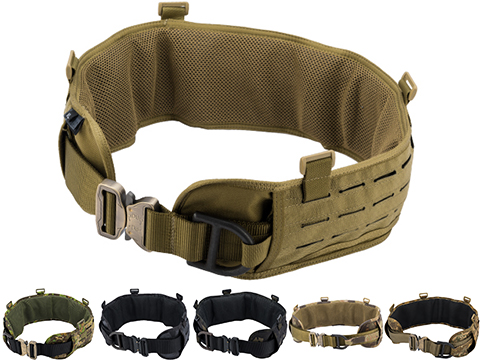 TMC Laser-Cut Padded Battle Belt w/ Rigger's Belt