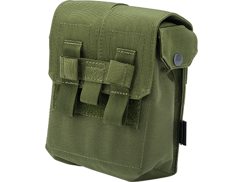 TMC MOLLE M249 200Rd Ammunition Pouch (Color: OD Green)