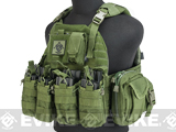 G TMC PI Style Lightweight Plate Carrier w/ Pouches - OD Green