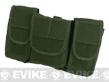 TMC MS Style Triple Pocket General Purpose Pouches - OD Green