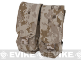 Avengers MOLLE Tactical Double M4 M16 Magazine Pouch - AOR1