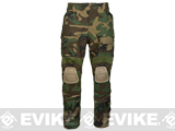 Avengers Tactical Pants w/ Built-in Knee Pads - Woodland (X-Large)