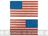 Matrix IR Reflective United States  PVC Flag Patch Set (Full Color)