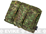 Avengers MOLLE AVS Style M4 / M16 Triple Mag Pouch (Color: PenCott Greenzone)