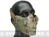 Avengers Iron Face Skull Imprint Nylon Lower Half Mask (Color: Multicam)