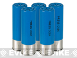 Matrix 12 Gauge Shotgun Dummy Shells 5 Pack - Blue