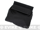 TMC Hook and Loop Roll-Up Dump Pouch (Color: Black)