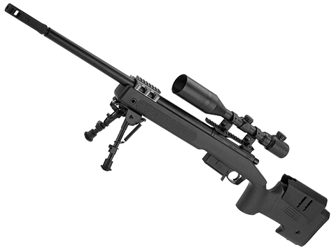 Tokyo Marui M40A5 Bolt Action Airsoft Sniper Rifle (Color: Black)