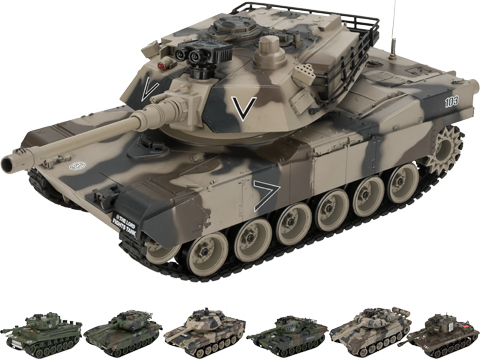 1:20 Scale RC Airsoft Battle Tank