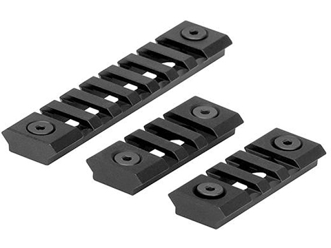 Trinity Force Lightweight M-LOK Rail Segments - Set of 3