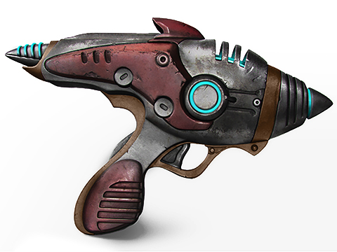 Triforce Limited Edition Fallout 4 Alien Blaster Full Scale Replica