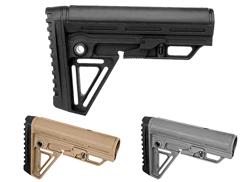 Trinity Force Polymer Alpha Retractable  Stock (Color: Black)