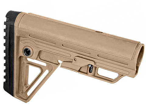 Trinity Force Polymer Alpha Retractable  Stock (Color: Sand)