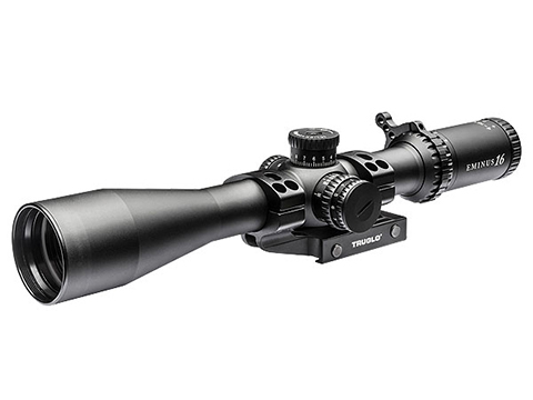 TruGlo Eminus™ 3-9x24 Illuminated Reticle Tactical Rifle Scope w/ APTUS-M Scope Mount