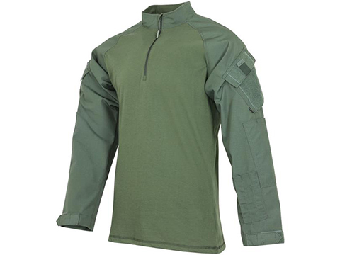 Tru-Spec  Zip T.R.U.® Combat Shirt (Size: X-Large-Regular / OD Green)
