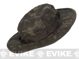 Tru-Spec Tactical Response Uniform Boonie Hat (Type: Multicam Black / 7 3/4)