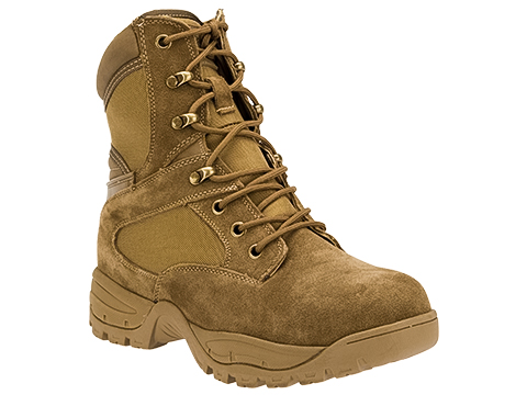 Tru-Spec Tactical Side Zipper Boots (Color: Coyote / 8)