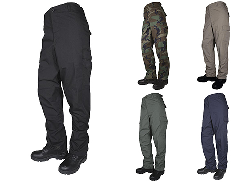 Tru-Spec Basic BDU Pants (Color: Black / Medium)