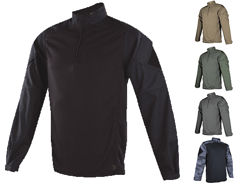 Tru-Spec Urban Force TRU 1/4 Zip Combat Shirt (Size: OD Green / Small)