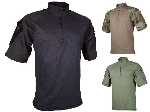 Tru-Spec Short-Sleeve Tactical Response Uniform 1/4 Zip Combat Shirt