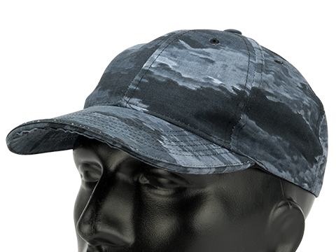 Tru-Spec Adjustable Rip-Stop Tactical Ball Cap (Color: A-TACS LE-X)