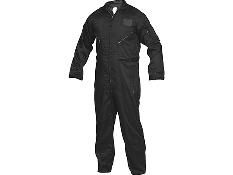 Tru-Spec 27-P Basic Poly-Cotton Flight Suit (Color: Black / Large-Regular)