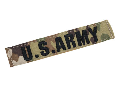 Tru-Spec U.S. Army Fabric Name Tape Patch (Color: Scorpion)