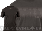"z 5.11 Tactical ""Desert Shadow"" Logo Tshirt - (Large)"