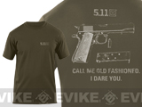 z 5.11 Tactical Old Fashioned Logo T-shirt - (XXL)