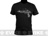 Salient Arms Raygun Screen Printed Cotton T-Shirt (Size: Mens X-Large)
