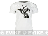 Salient Arms Mens Bobba Fett Cotton T-shirt - White