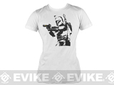 Salient Arms Womens Bobba Fett Cotton T-shirt - White
