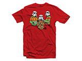 Black Rifle Division Tis the Season T-shirt - Red (Size: Medium)